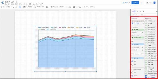 Googleデータポータル グラフイメージ