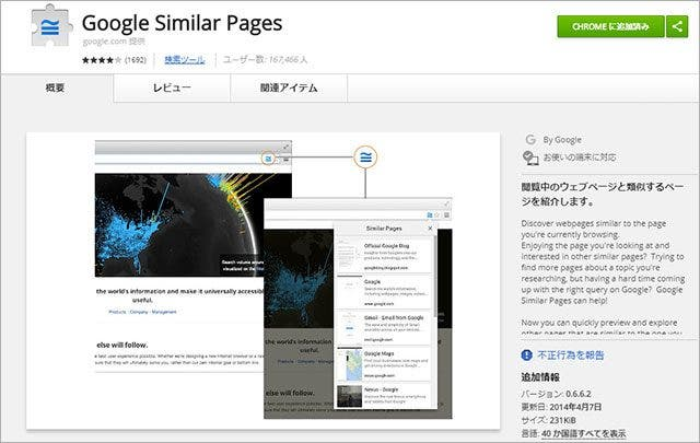 Google Simillar Pages