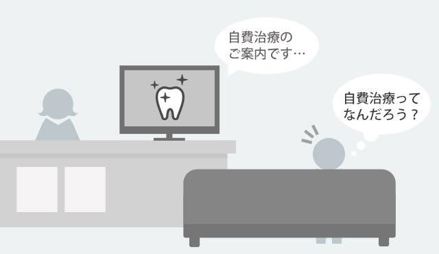 歯科医院に設置のデジタルサイネージ