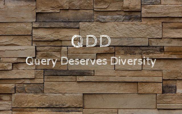 「QDD」とは?検索結果の多様性を意識したグーグルアルゴリズム