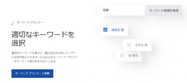 キーワードプランナー(Google広告)