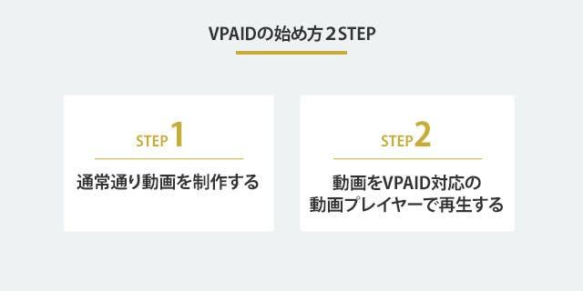 VPAIDの始めかた2STEP